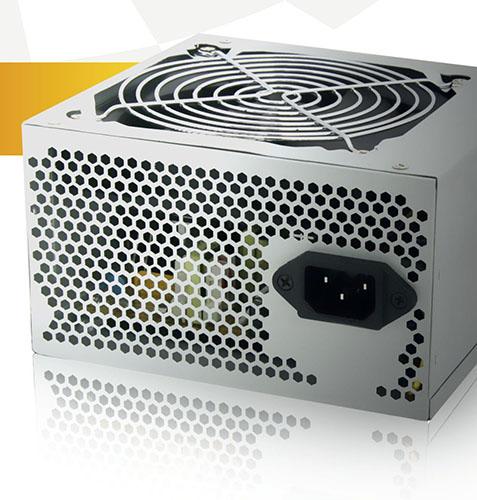 Powercase 650W 120mm Silent Fan, 20+4 PIN, SATA x2,  OEM Packaging ATX PSU