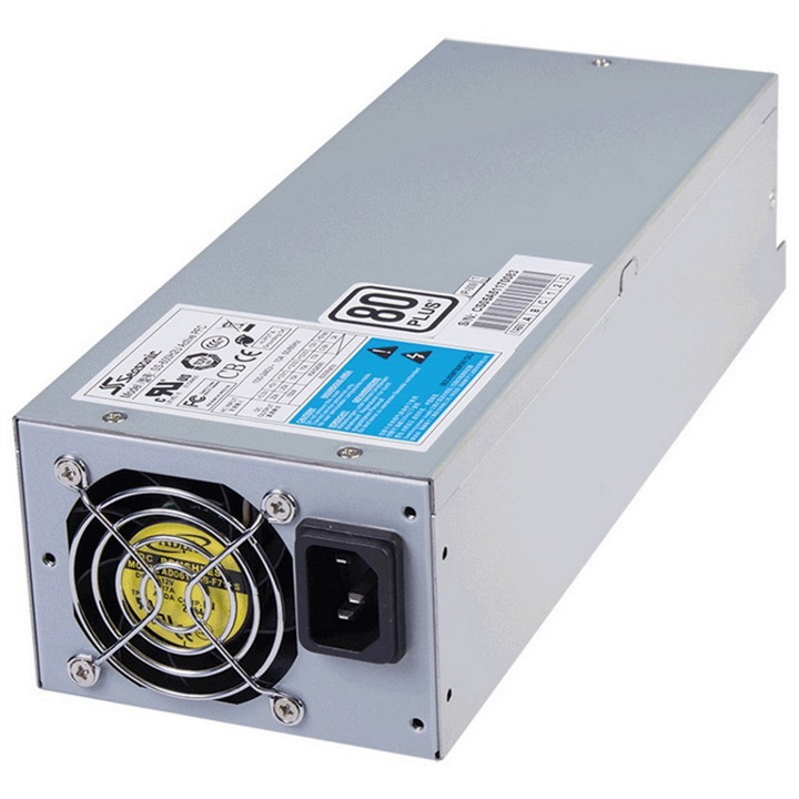 Seasonic 600w 2U Modular Power Supply, 80 Plus Certified, Over-voltage, Over-power, Short circuit protection, 12 Month Warranty