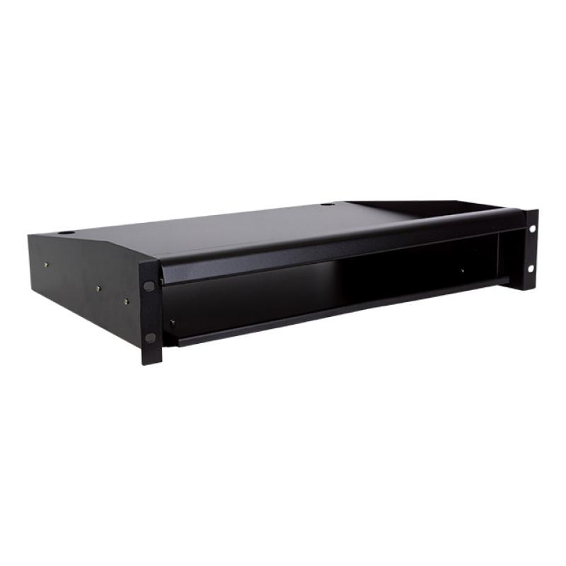 LinkBasic 2RU Sliding Keyboard Shelf with Mouse Tray