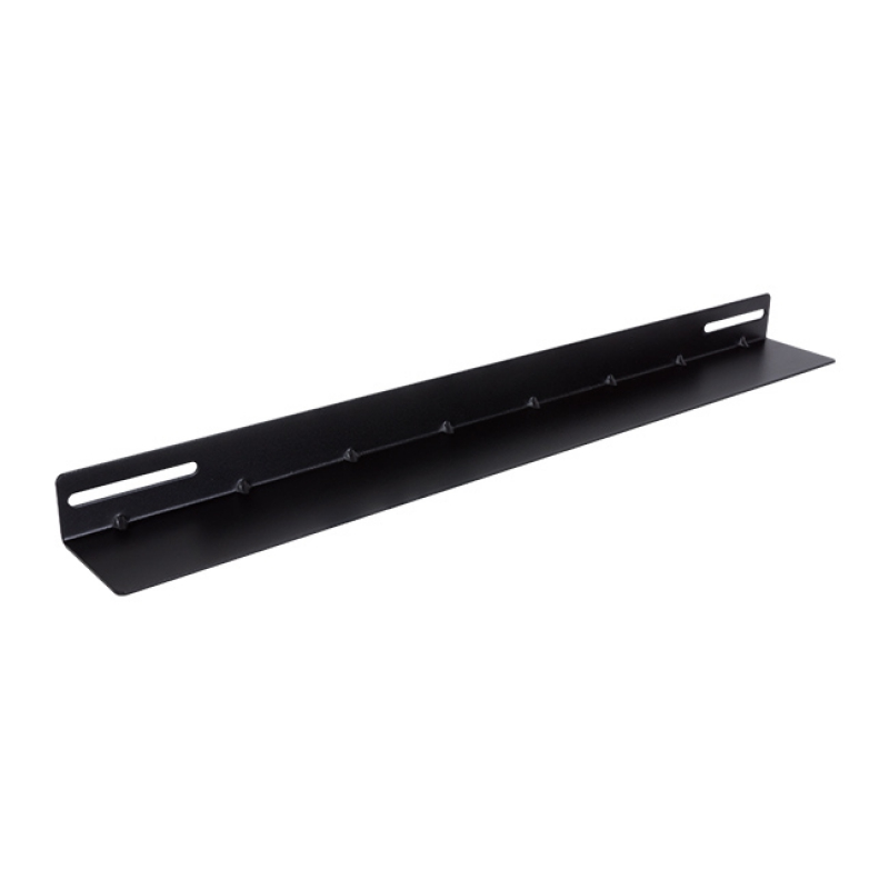LinkBasic 19' L Rail for 800mm Deep Cabinet only - Black