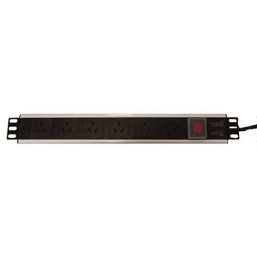 LinkBasic 6-Port 15A Power Distribution Unit AU Approved  (15A Connection Required)