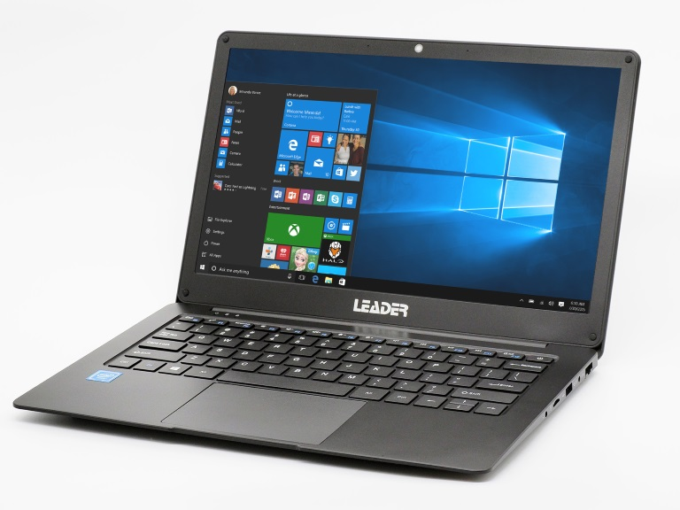 Leader Companion 307-L Notebook, 13.3' Full HD, Celeron, 4GB, 120GB SSD, Windows 10 Home, 1 Year Onsite Warranty – Black