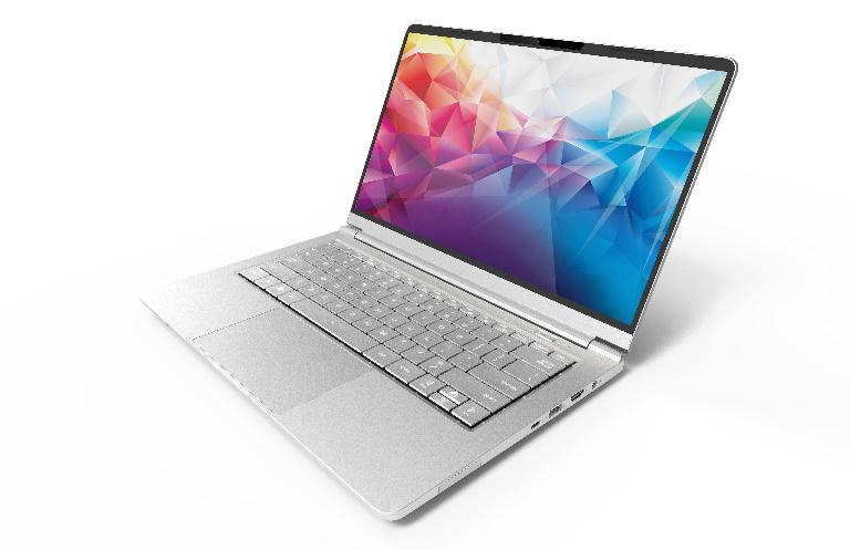 Leader Ultraslim Companion 427, 14' Full HD 72% NTSC, Intel  i5-10210U, 8GB, 500GB NVMe SSD, Windows 10 Home,2yr Warranty,Magnesium, W10H