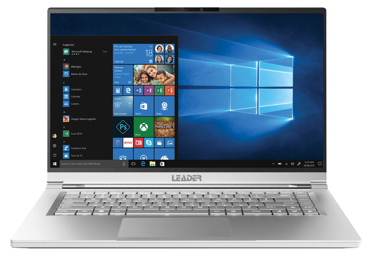 Leader Companion 572PRO, 15.6' Full HD, Intel i7-10510U, 8GB, 500GB SSD, 2GB Nvidia MX250 Graphics,IR Cam,Windows 10 Pro,2yr war,Magnesium W10P