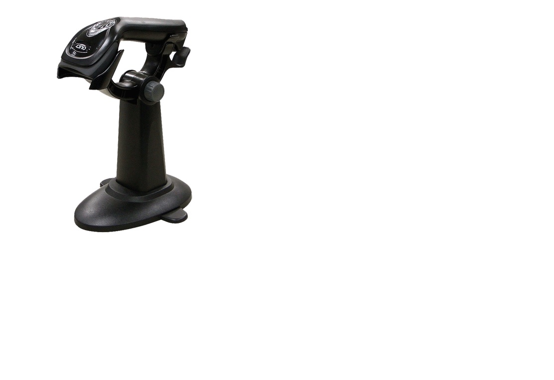 Cino FBC560 Linear Imaging Barcode Scanner + Stand