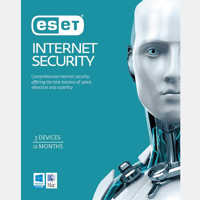 ESET Internet Security 3 Devices 1 Year OEM Download 20-Pack LIMITED TIME ONLY