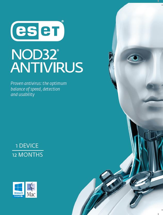 ESET NOD32 Antivirus OEM 1 Device 1 Year Download