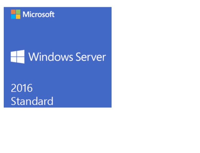 Microsoft Server Standard 2016 64Bit English 1pk DSP OEI DVD 16 Core  (SYSTEM BUILDS ONLY)