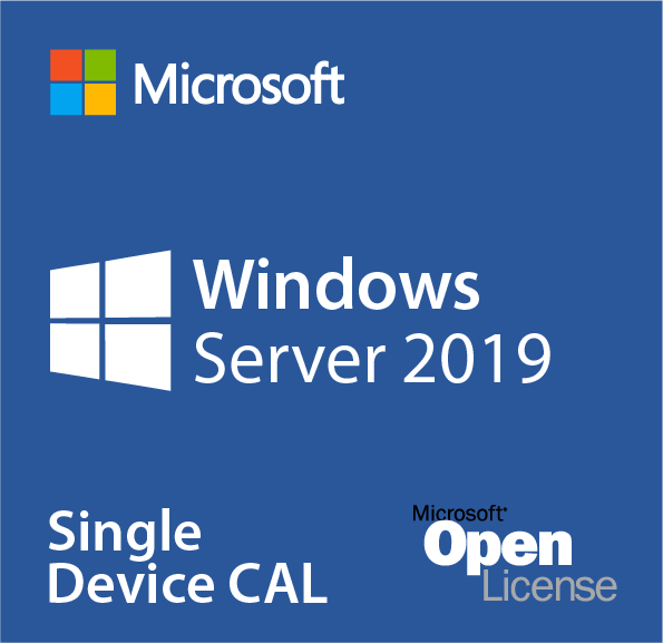 Microsoft Windows Server 2019 Device CAL, OLP, No Level, Single Pack