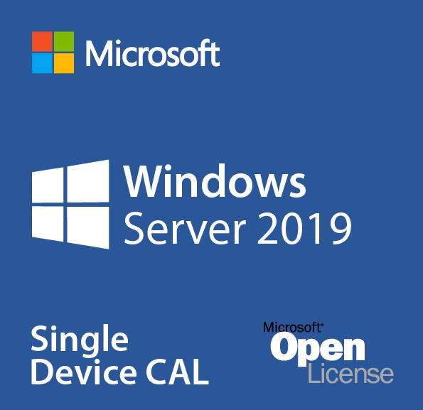 Microsoft Windows Server 2019 User CAL, OLP, No Level, Single Pack