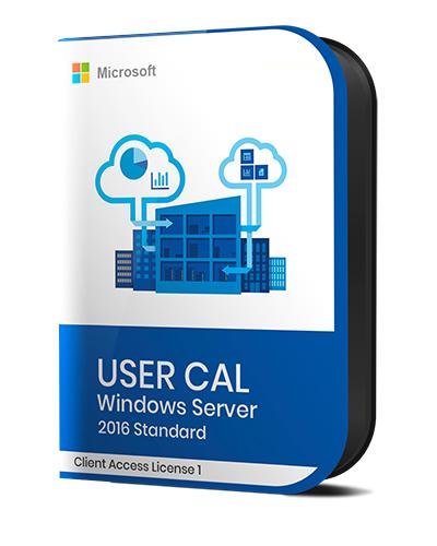 Microsoft Windows Server Standard 2016 - Single User CAL 2016 - Leader Version