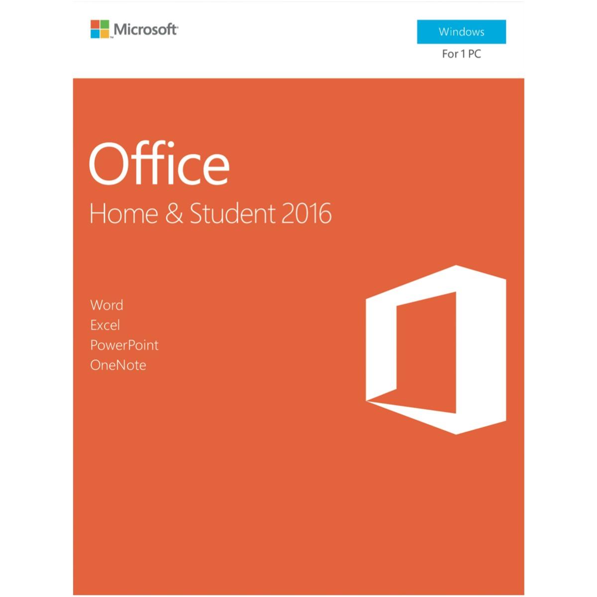 Microsoft Office Home & Student 2016 - No DVD Retail Box