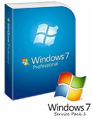 Microsoft Windows 7 Professional - 32Bit SP1 OEM OEM DVD (LS)