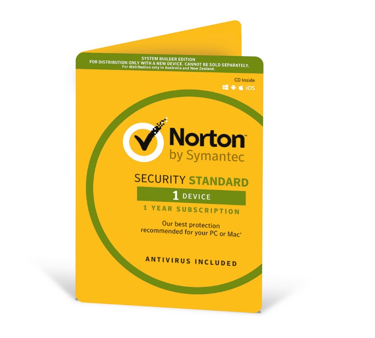 Norton Security  2018, 1  Device, 12 Months, PC, MAC, Android, iOS, OEM