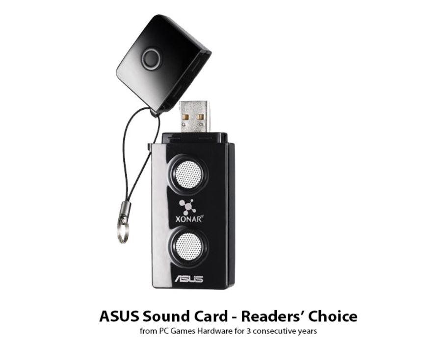 ASUS XONAR-U3 USB Sound Card