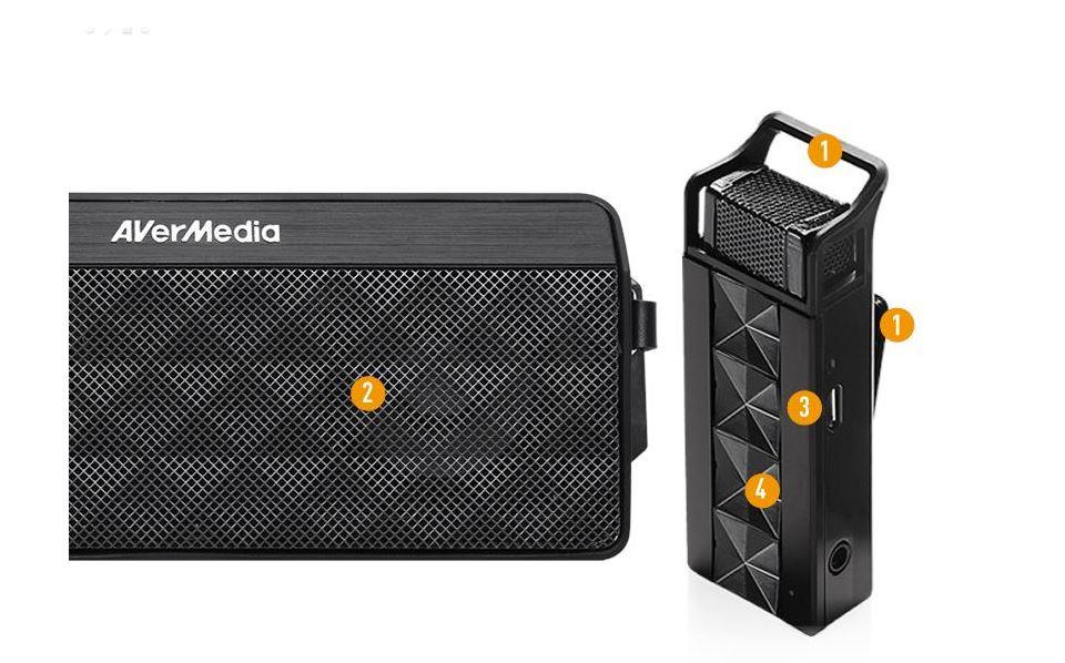 Avermedia Wireless Classroom Audio System AW330