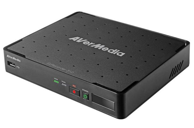 Avermedia EzRecorder 310 Digital Recorder, 1080P, Schedule Recording, Auto Power On, Commercial Trimming, MP4 and JPG Format, Record and Take Snapshot