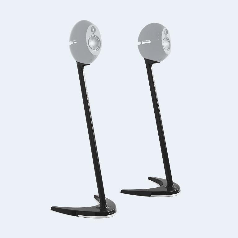 Edifier SS01C Speaker Stands Black - Compatible with E25, E25HD  E235