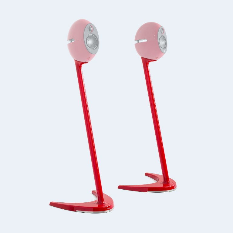 Edifier SS01C Speaker Stands Red - Compatible with E25, E25HD  E235