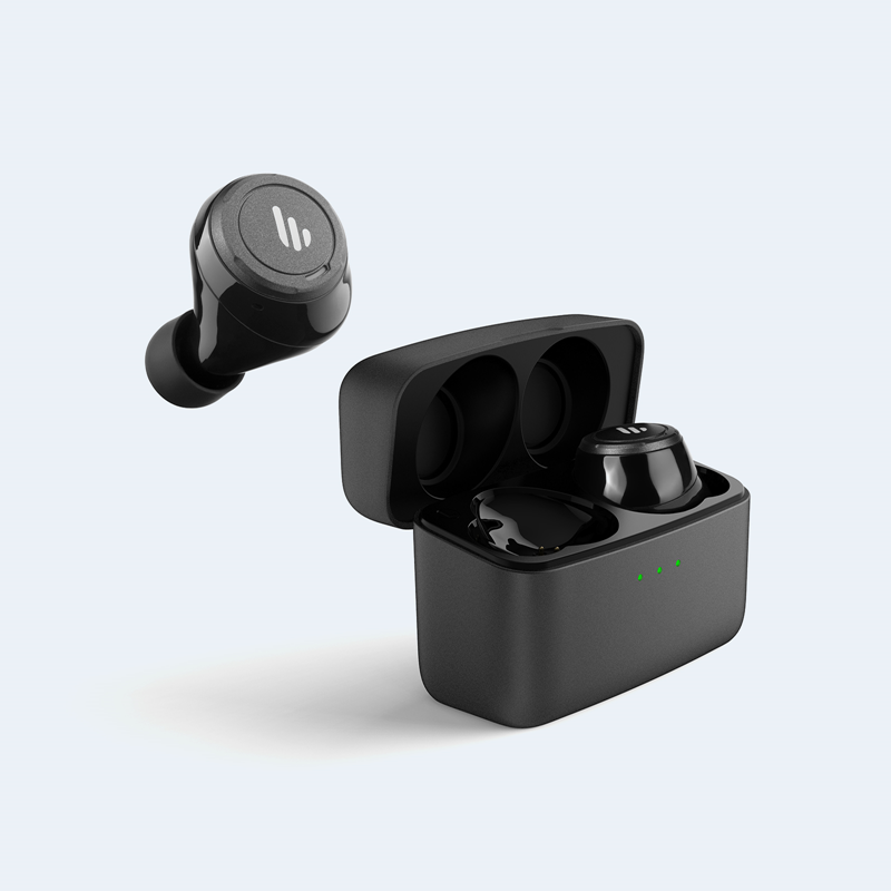 Edifier TWS5 Bluetooth Wireless Earbuds - BLACK/ Bluetooth 5.0/ Up to 32 hours Battery Life/8hours Playback/CVC Noise Reduction/Splashproof