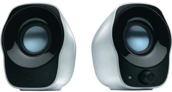 Logitech Z120 USB Powered Speakers 3.5mm Audio/Volume Control/USB