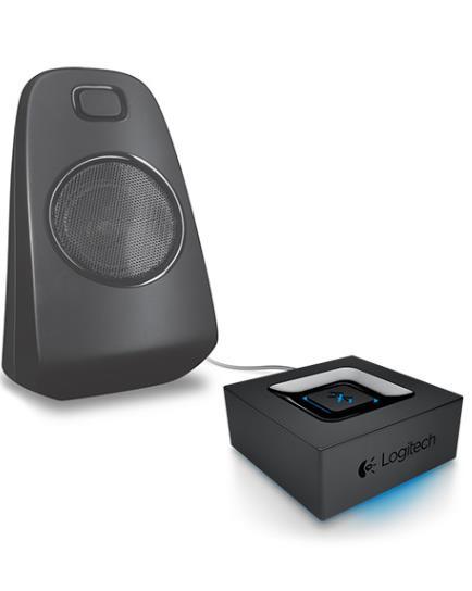 Logitech Bluetooth Adapter Audio Streaming Via Bkuetooth - Superior acoustics Long wireless range Auto re-pairing