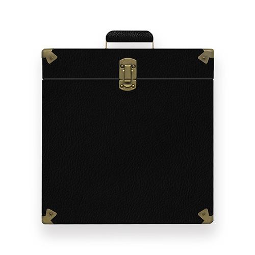 mbeat® Vinyl Record Storage Carrier Case (Vintage Black) (LS)