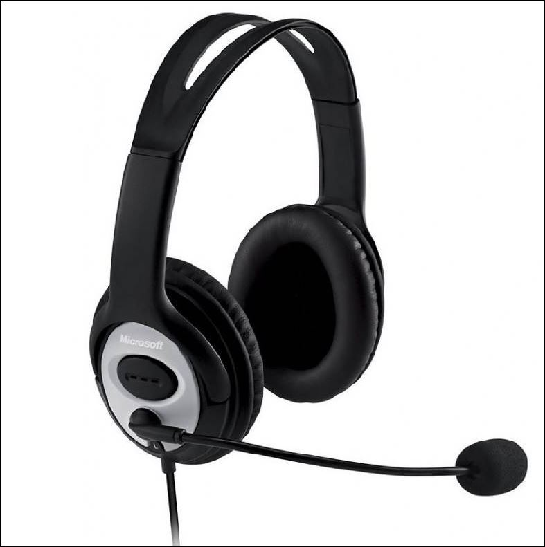 Microsoft LX-3000 Lifechat USB Retail, Headset,