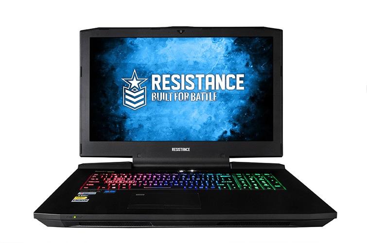 Resistance Fury Gaming Notebook V3. 17.3' Full HD, Intel i7-7700K, 16GB, 250GB SSD, 1TB HDD, Nvidia GTX 1080 8GB, Window 10 Home, 2 Warranty, RGB, SLI