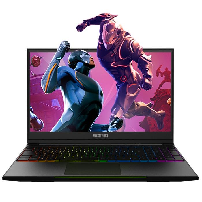 Resistance Striker Gaming Notebook V4, 15.6' Full HD,  i7-8750H, 16GB DDR4, 256GB SSD, 1TB HDD, GTX 1060 6GB, Window 10 Home, 2yr Warranty, RGB, Bezel