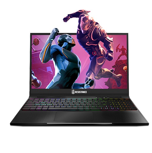 Resistance Striker Gaming Notebook V4, 15.6' Full HD,  i7-8750H, 16GB DDR4, 120GB SSD, 1TB HDD, GTX 1050Ti 4GB, Window 10 Home, 1 Warranty, RGB, Bezel