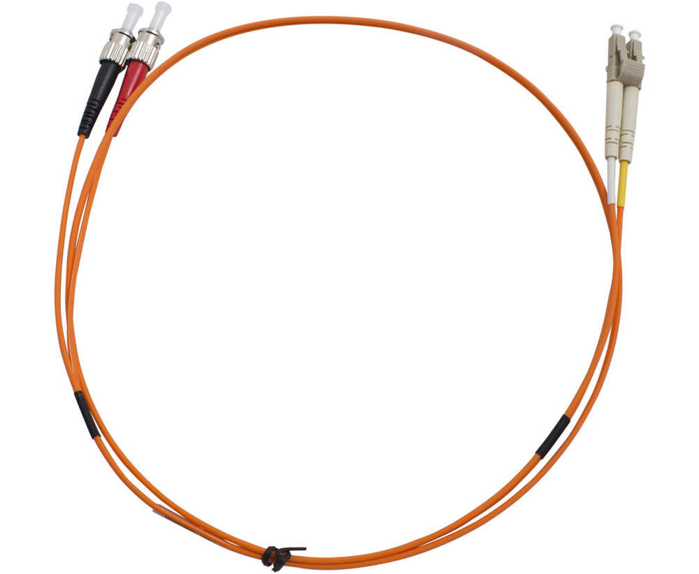 MSS Fibre Systems ST-LC DUPLEX OM1 PATCHLEAD - 2 MTR