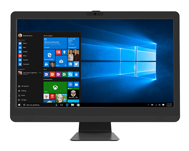 Leader Visionary AIO 231T, 23.6' Full HD, Intel I5-8400, 8GB, 240GB SSD, Touch, Windows 10 Home, 1 year Onsite Warranty, VESA, Keyboard & Mouse