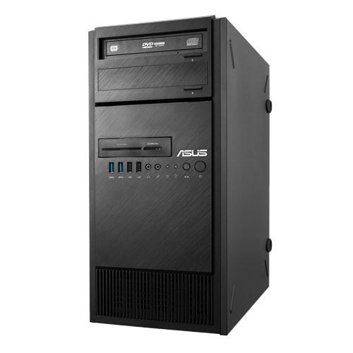 ASUS ESC500 G4 Barebones Sever 4U Pedestal Workstation, Intel C236, E3 Socket, 4 x DIMM, 3 x 3.5' HDD bays, 500w PSU