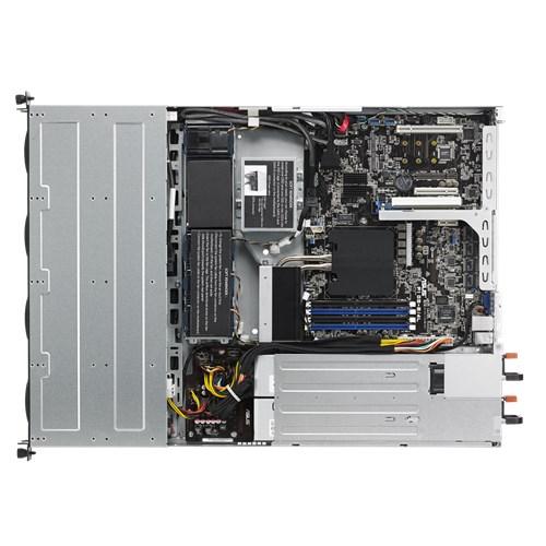 ASUS RS300-E9-RS4 1RU Server Barebone, E3 Socket, 4 x 3.5' HS HDD, 480w RPSU 1 + 1 , 2 x M.2, 4 x DIMM