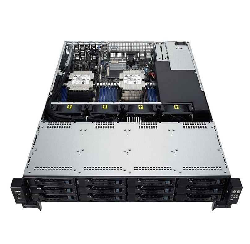ASUS RS520-E9-RS12-E 2U Barebone Rackmont Server LGA3647 Aspeed AST2500 800W PSU