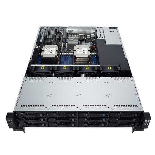 ASUS RS520-E8-RS12-E2 Barebones Server, Dual E5 Socket, 16 x DIMM, 12 x 3.5' HS HDD, 1 x M.2, iKVM, 770w RPSU, 3 Year Warranty