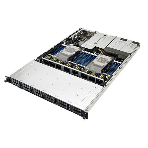 ASUS RS700-E9 High Performance 1U Barebone Server, Dual Socket Scalable Xeon, 24 x DIMM, 12 x 2.5' Hotswap Bays, 800w RPU (2/2) 3 Year  Warranty