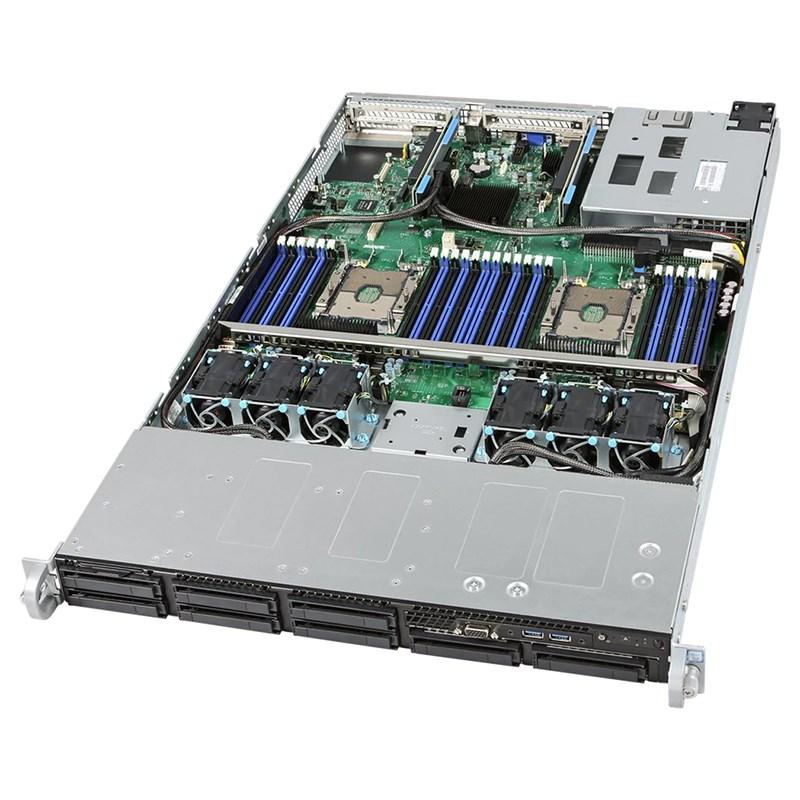 Intel 2U Rackmount Server - Prebuit, Intel Xeon 4208 (1/2) 32GB RAM (2/24) LSI3108 8 Port RAID, BBU, RMM, 1100w Dual PS, 3 Year Intel Warranty