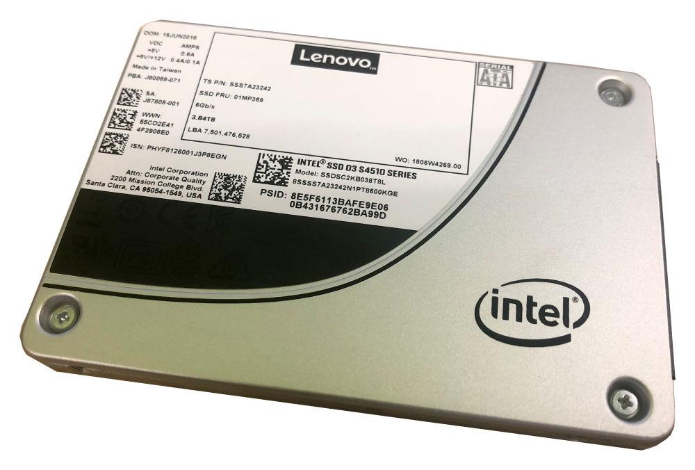 LENOVO ThinkSystem 3.5' 240GB Entry SATA 6Gb Hot Swap SSD SR630/SR550/SR650/SR250/ST550/ST250