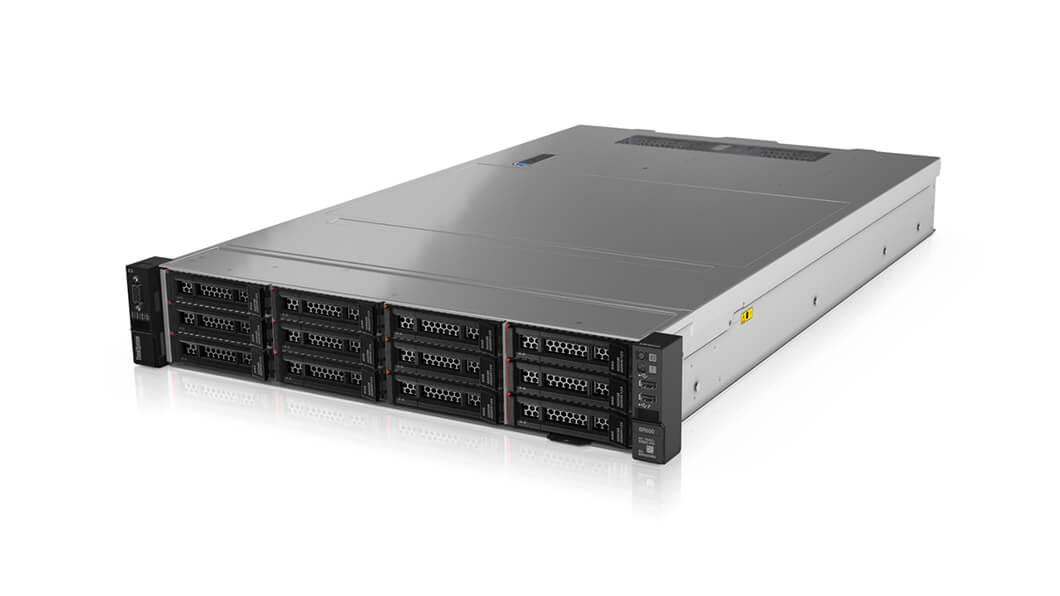 LENOVO ThinkSystem SR550 2U Rack Server, 1xIntel Xeon Silver 4208, 1x16GB 2Rx8, 12 x 3.5' HS Bays, HW RAID 930-16i 4GB Flash, 1x750W PSU, 3 Year NDB