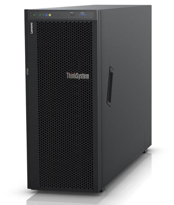 LENOVO ThinkSystem ST550 4U Tower Server, 1 x Intel Xeon Silver 4208,  1x16GB 2Rx8, 8 x 2.5' HS Bay, HW RAID 930-8i PCIe 12Gb Adapter, 1x750W, 3Yr NBD