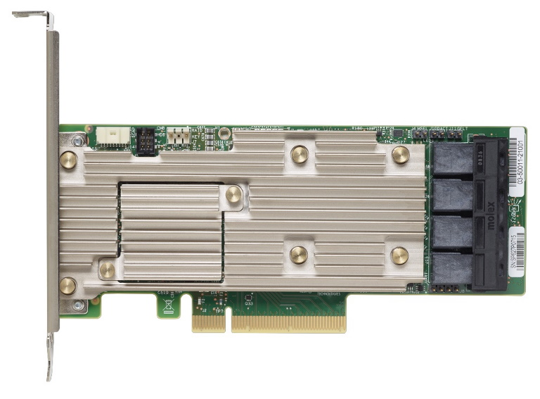 LENOVO ThinkSystem RAID 930-16i 4GB Flash PCIe 12Gb Adapter For SR630/SR550/SR650/SR250/ST550/ST250