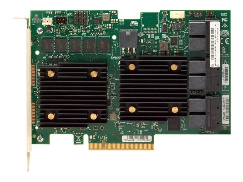 LENOVO ThinkSystem RAID 930-24i 4GB Flash PCIe 12Gb Adapter For SR630/SR550/SR650/SR250/ST550/ST250