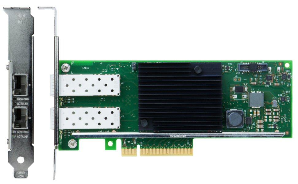 LENOVO CA X710-DA2 2x10GbE SFP+ For SR630/SR550/SR650/SR250/ST550/ST250