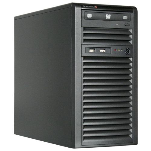 BizCor E3 CAD Workstation, E3-1225v6 Pedestal, 16GB DDR4 (1/4), 500GB M.2 NVME SSD, 1TB 3.5' SATA HDD (1/4), 2x GbE , 550W PSU,3 Yr Warranty