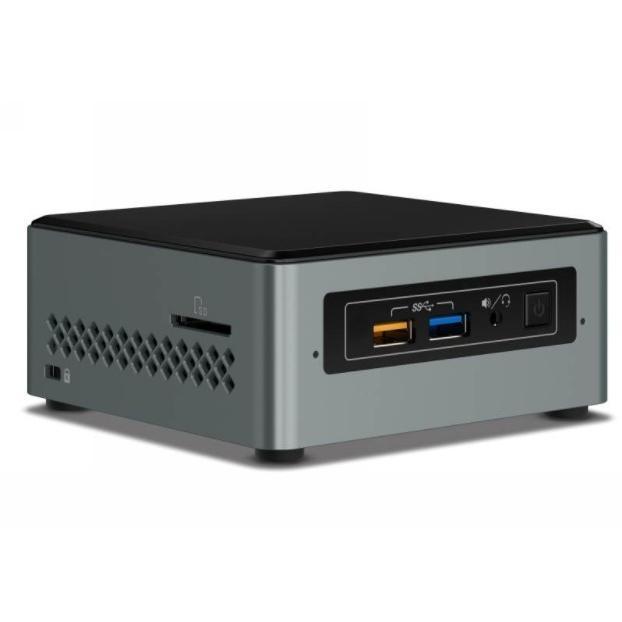Intel NUC mini PC J3455 2.3GHz 2xDDR3L SODIMM 2.5' HDD M.2 PCIe SSD VGA HDMI 2xDisplays GbE LAN WiFi BT 4xUSB3.0 BOXNUC6CAYH
