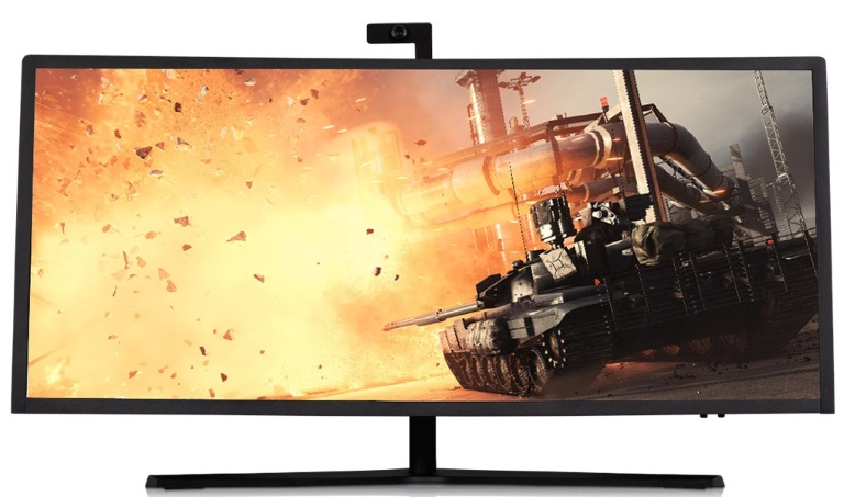Resistance Beast 34' AIO Barebone Gaming Chassis - Samsung 34' 3440x1440 WQHD, 450W/120W, Webcam, Speakers, VESA, 1Yr