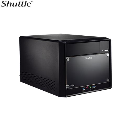 Shuttle SH310R4V2 XPC Cube Performance Barebone - H310, S1151, 2x DDR4, 2x 3,5'HDD, 1x 5.25'ODD bay, M.2 2280, PCIe x16/ x1, 1x HDMI, 1x DP,