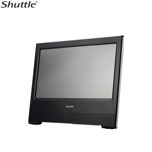Shuttle X50V6 XPC AIO Fanless Barebone - 15.6' Touch, IP54, Celeron 3865U, DDR4 SODIMM, 2.5' HDD, VGA/HDMI, 1 Giga LAN, WiFi